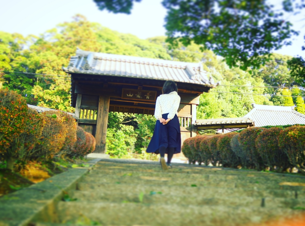 犬山・青龍院瑞泉寺の門