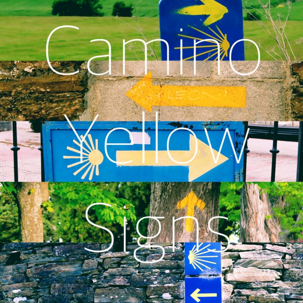 サンティアゴ巡礼で見つけた黄色い矢印サインを集めてみました!
