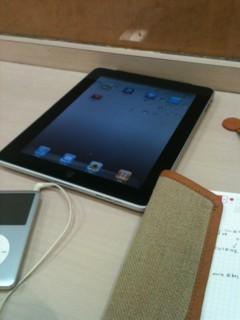iPadです