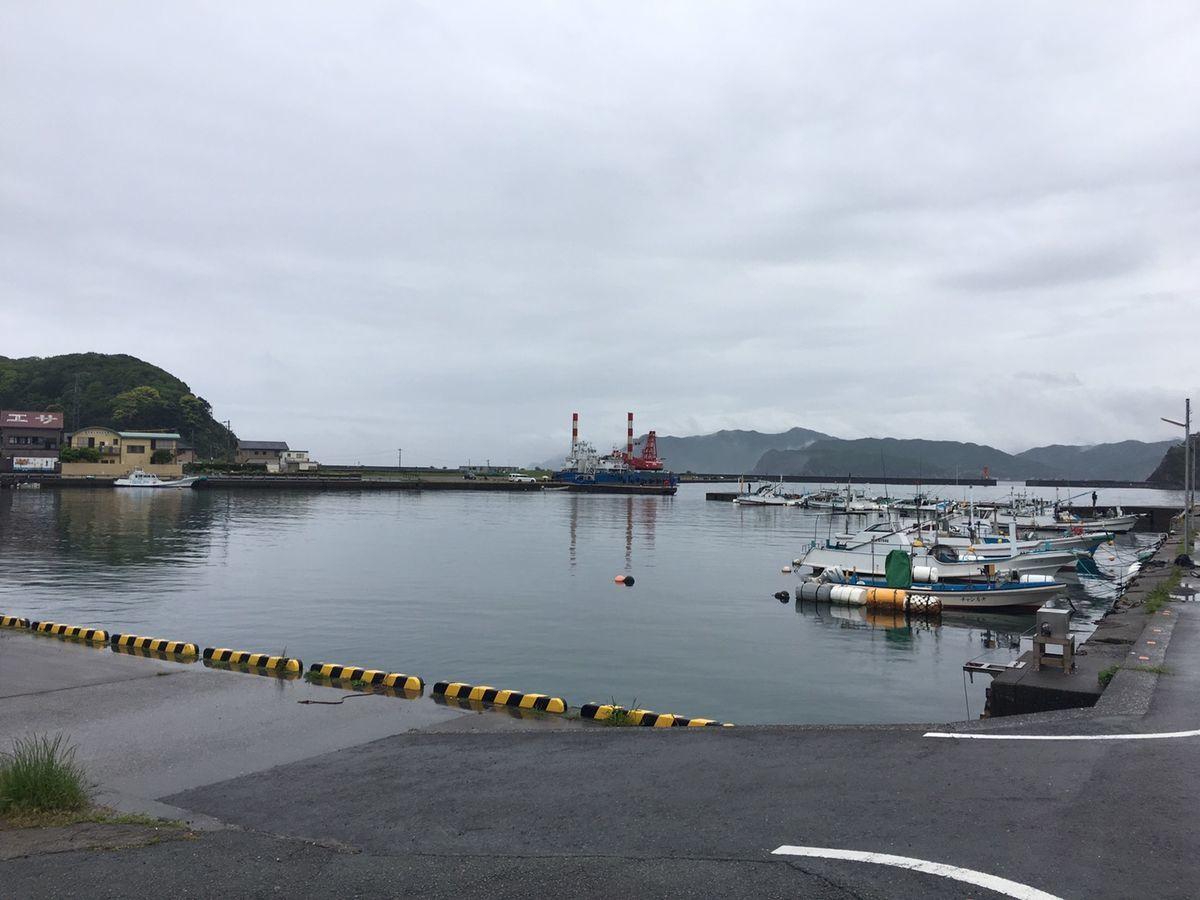 宿田曽漁港(三重県度会郡南伊勢町)