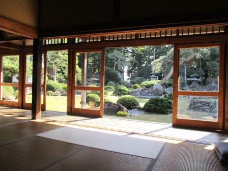 日本庭園・日本建築・畳・空間・スッキリ