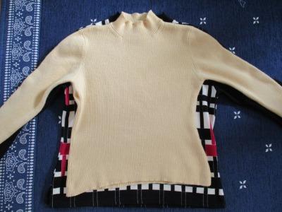 セーターの縮みを修復にはシリコン入りトリートメント