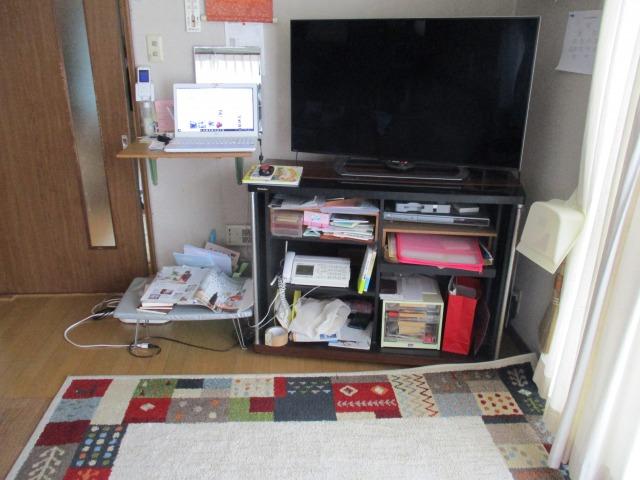 断捨離・テレビボードの片づけ・収納