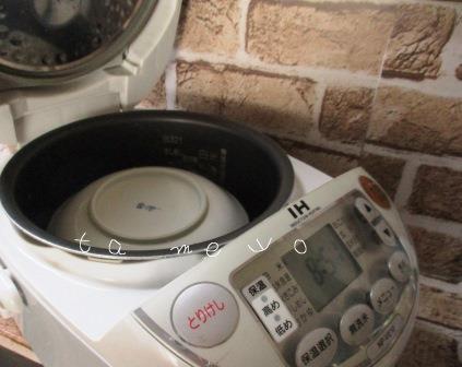 炊飯器の保温調理