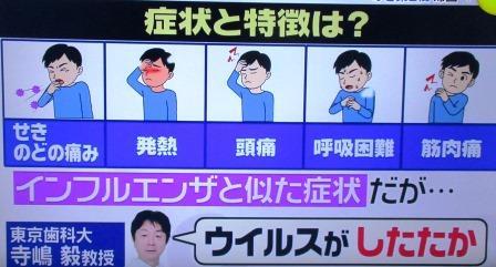 スッキリ・新型コロナウィルス感染症