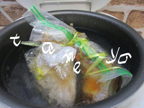 蒸し鶏・ほったらかし保温調理