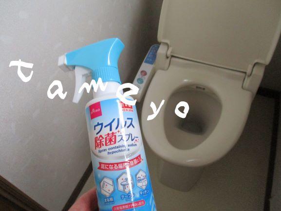 トイレそうじ・ウィルス撃退