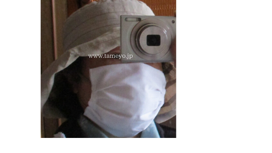 手作りマスク・新型コロナウィルス感染症