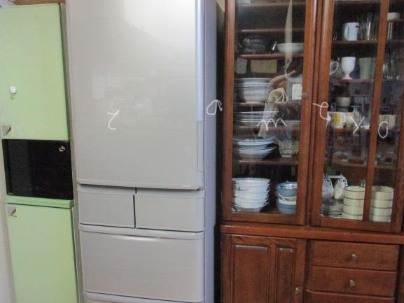 冷蔵庫の買い換え