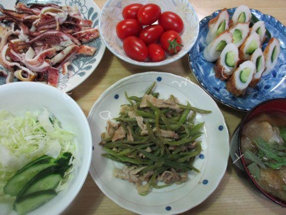 夏野菜のおかず
