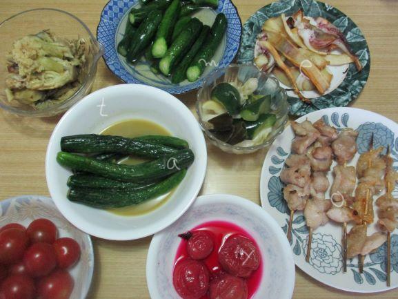 夏野菜メニュー