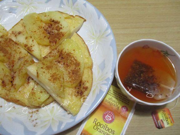 天ぷら粉ホットケーキ