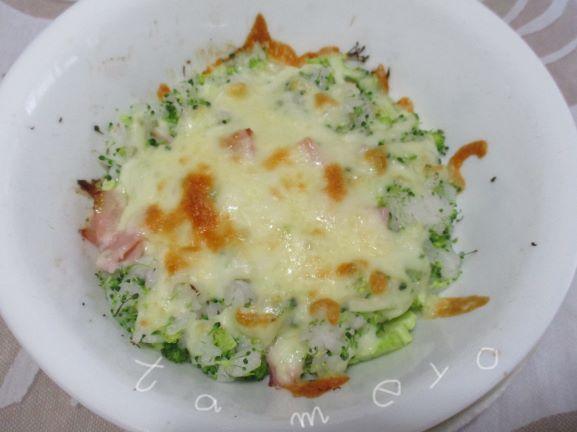 ブロッコリー・ブロッコリー混ぜご飯
