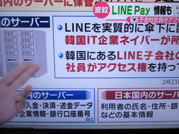 LINE・情報漏えい