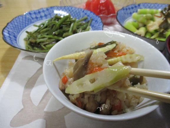 竹の子ご飯のレシピ