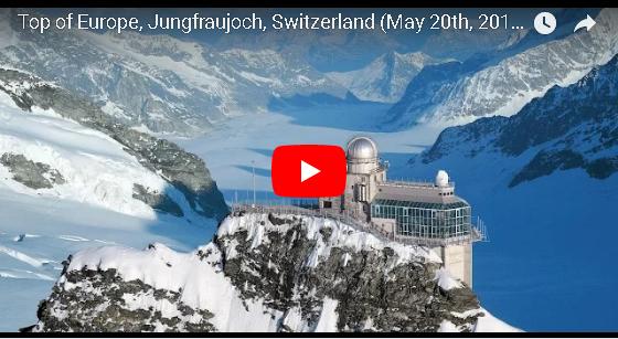世界の絶景動画1000  トップ・オブ・ヨーロッパ ユングフラウヨッホの旅