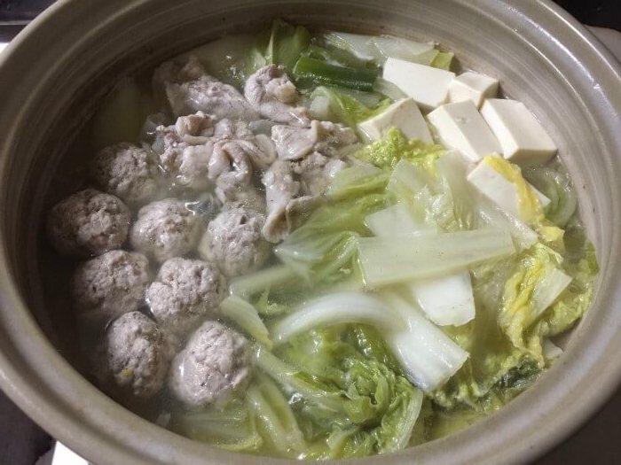 肉団子鍋 , タモリレシピ実践録