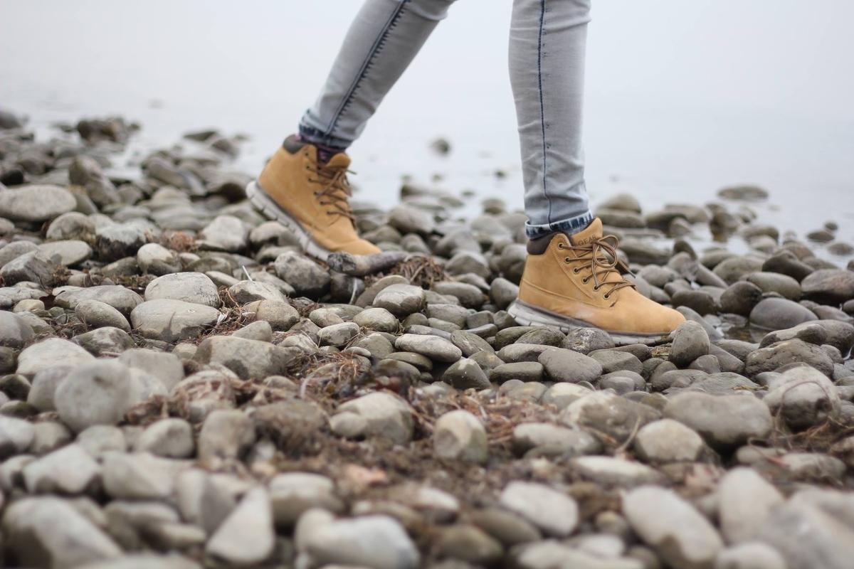 サイズの合った靴を履いて感じること