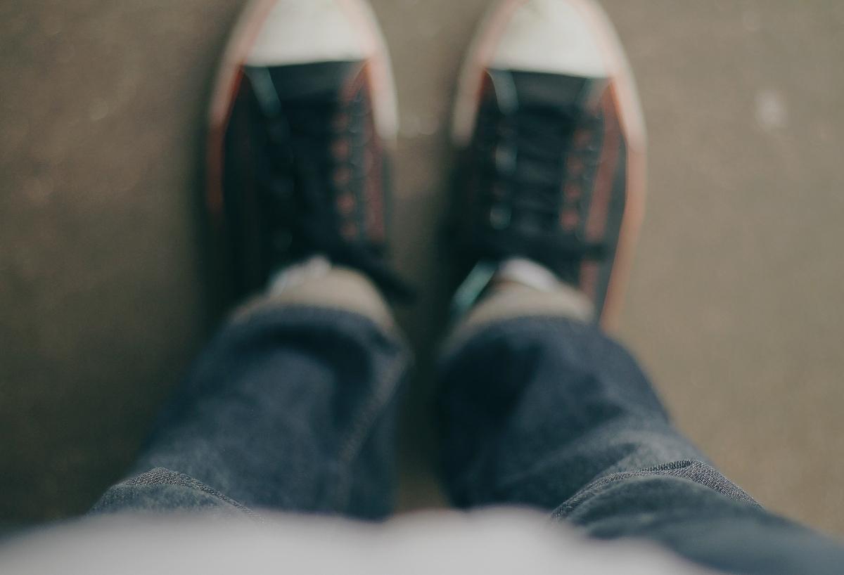 靴の履き方、考えてみない?