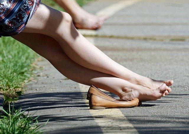 靴のサイズが合っていない人p