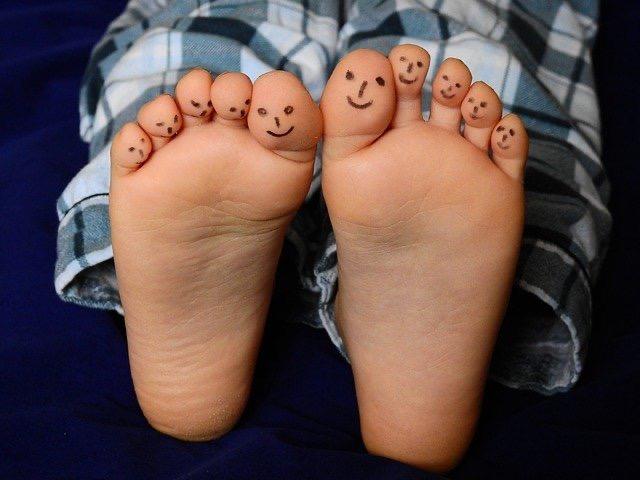 足が楽という考え方