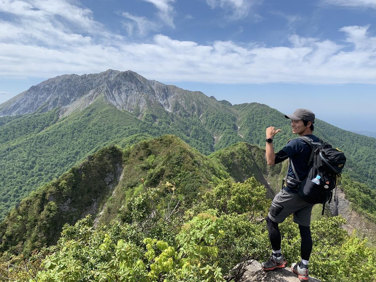 大山 登山