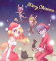 クリスマス話の挿絵