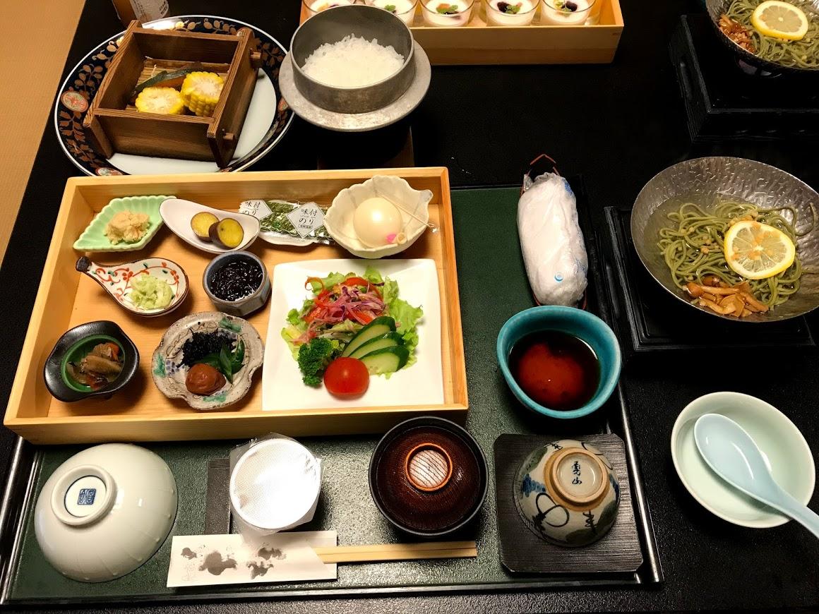 ぶどうの樹 杜の七種 朝食