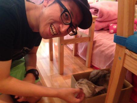 渋谷・猫カフェ【ハピ猫】02