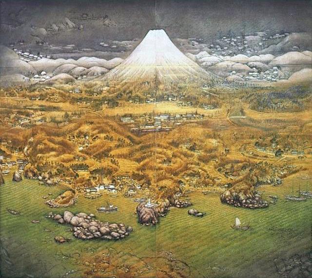 「山海図絵(伊豆の追憶)」不染鉄(ふせんてつ)