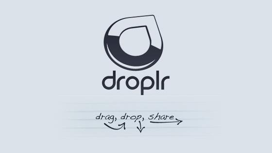 Droplr برنامج جديد يجعل المشاركة أسهل وأمتع [برامج]