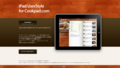 iPad UserStyle for Cookpad.com