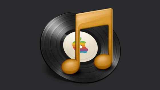 Retro iTunes icon