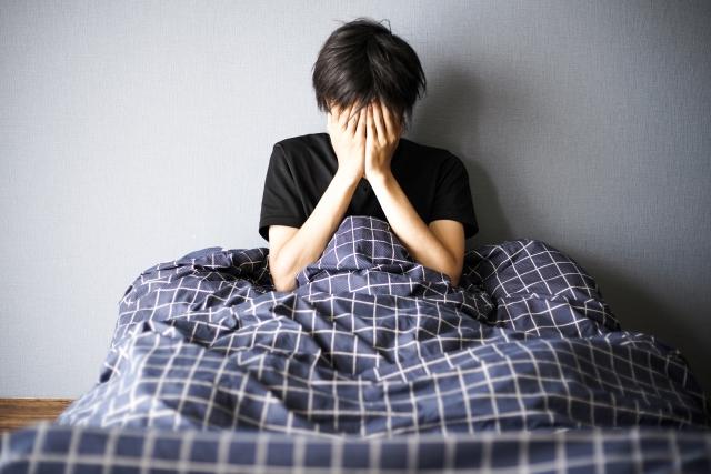 不眠症,足圧