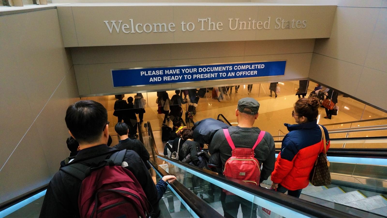 アメリカの空港