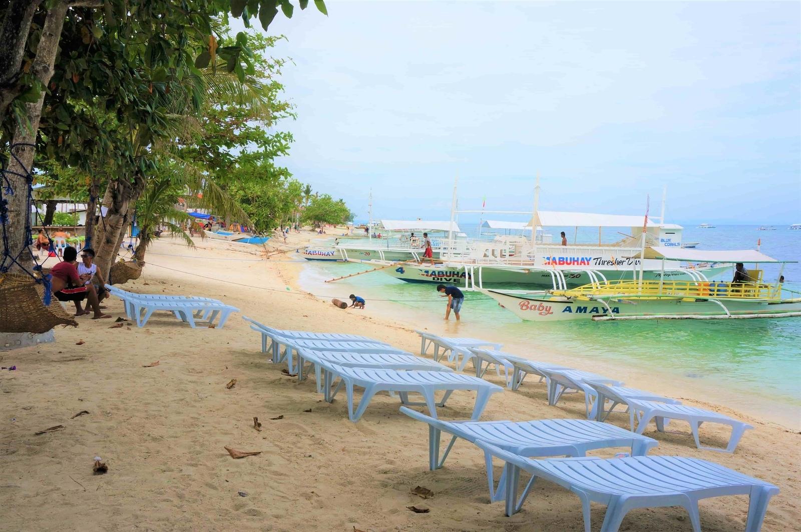 バウンティービーチのビーチチェア