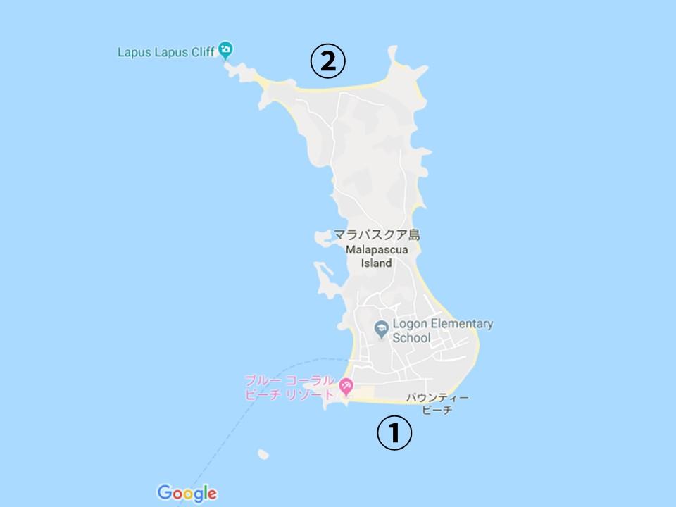 マラパスクアの地図