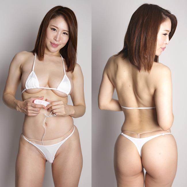 日本製 ポケット付き マイクロビキニTバック