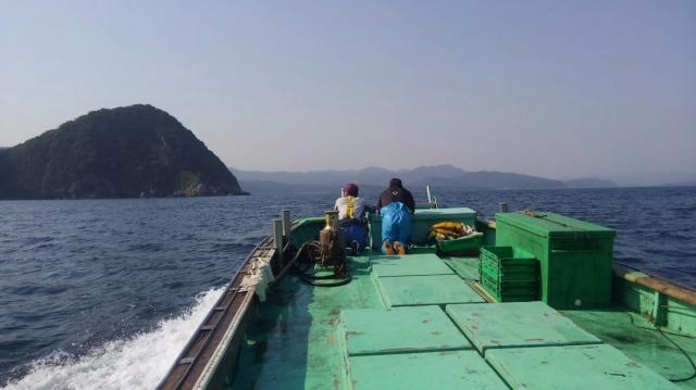 ベテラン漁師と新米漁師