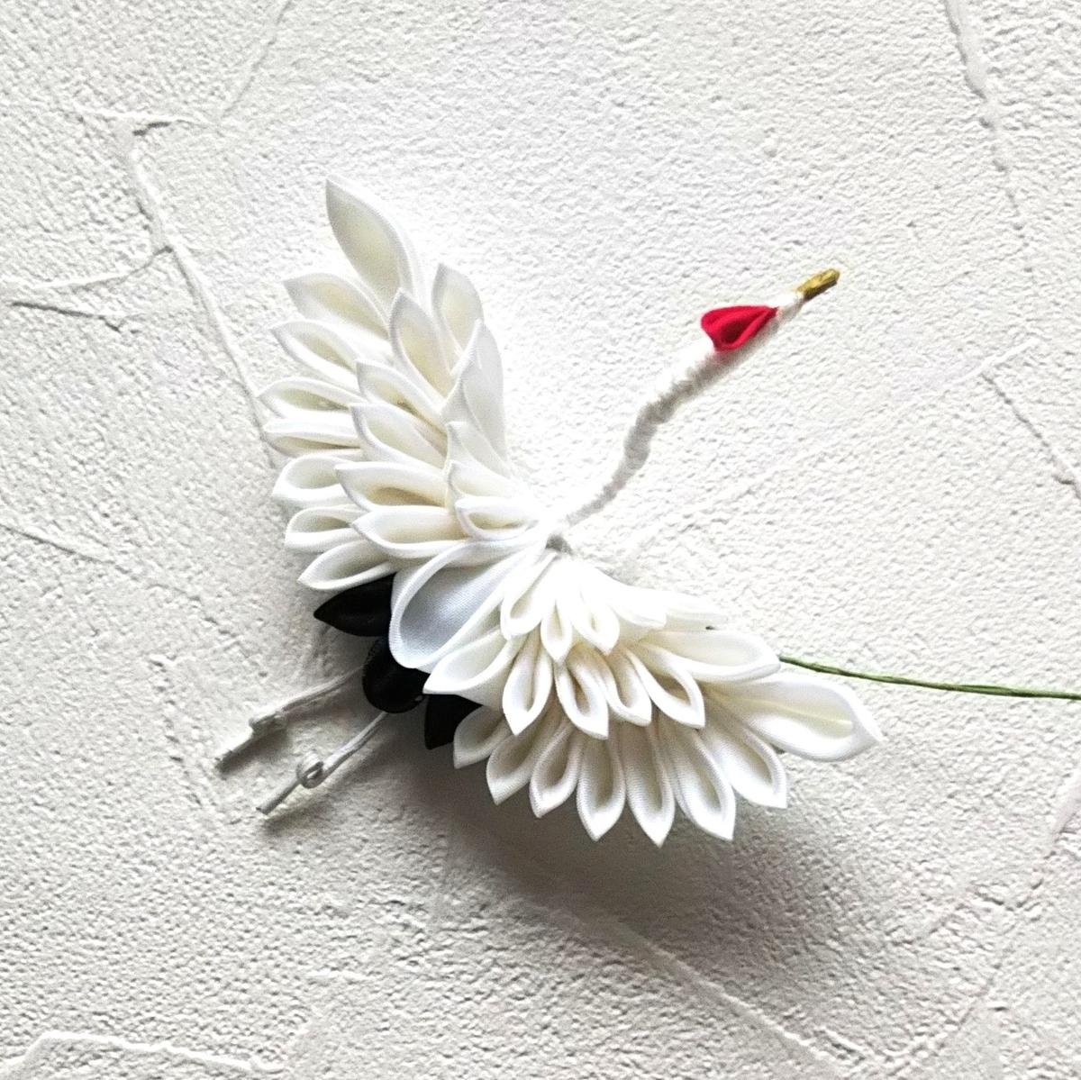 家にあるものでつまみ細工の鶴を作ってみました。 - 作るはたのし ...