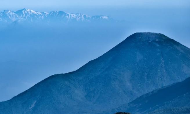 きれいなお山