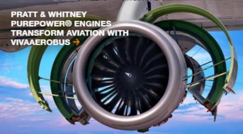 レイセオンテクノロジー【RTX】傘下のプラット&ホイットニーのエンジン