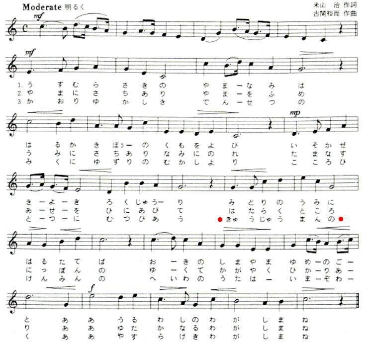 90万人から60万人台に減った島根県の県歌