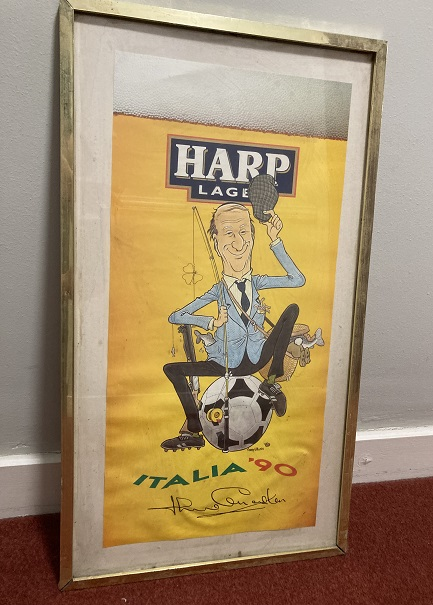 Jack Charlton Harp Lager Ad