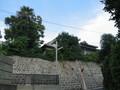 京町西側の斜面から