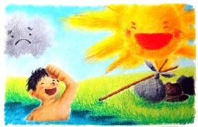 北風と太陽 (イソップ物語) - ...