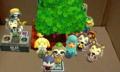 木が邪魔!