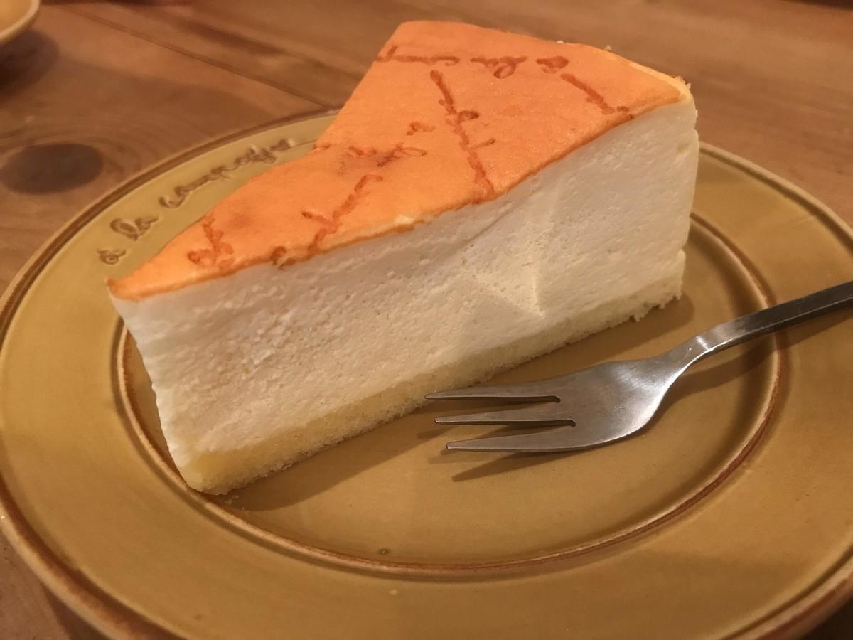 パティスリー・アラカンパーニュ チーズケーキ