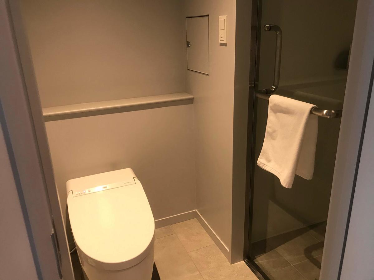 アンテルーム那覇 トイレ シャワー