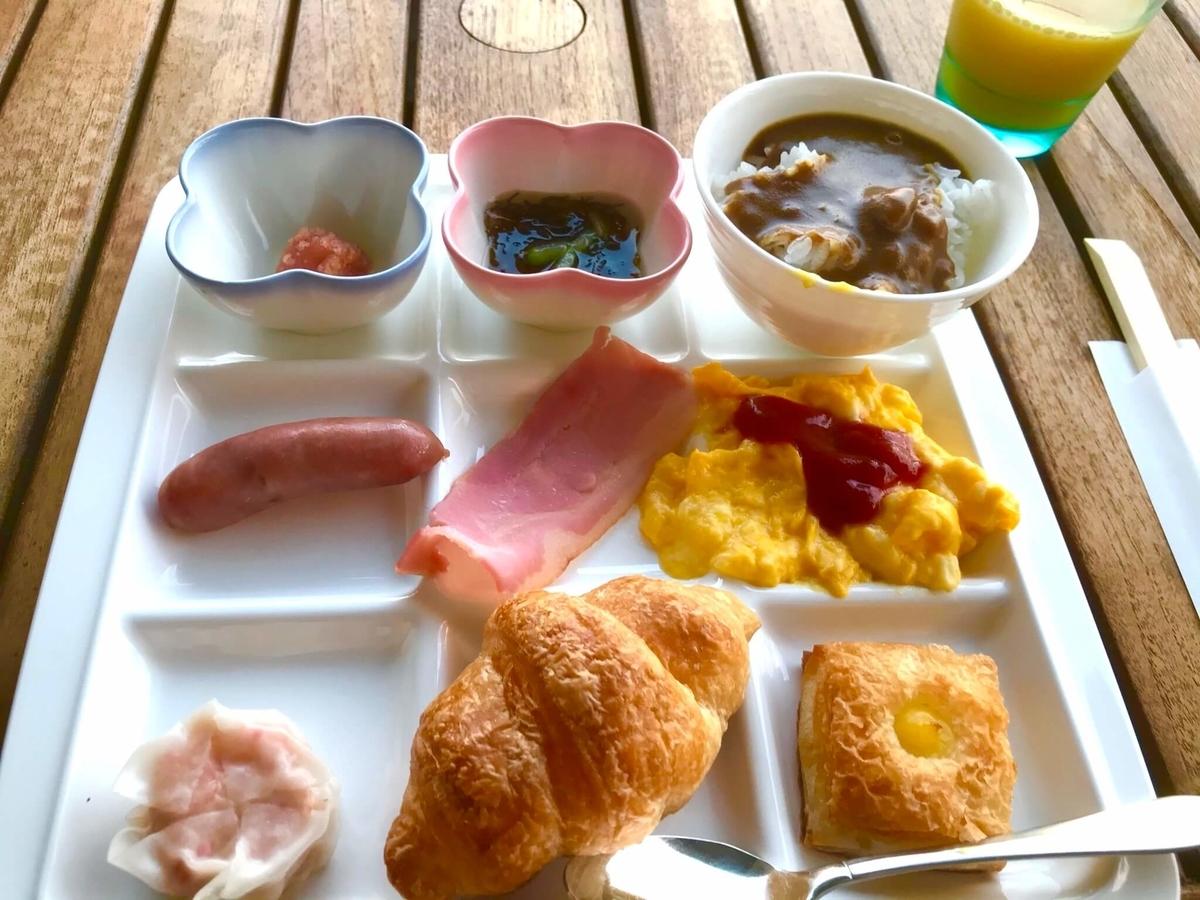 ホテルオリオンモトブリゾート&スパ 朝食